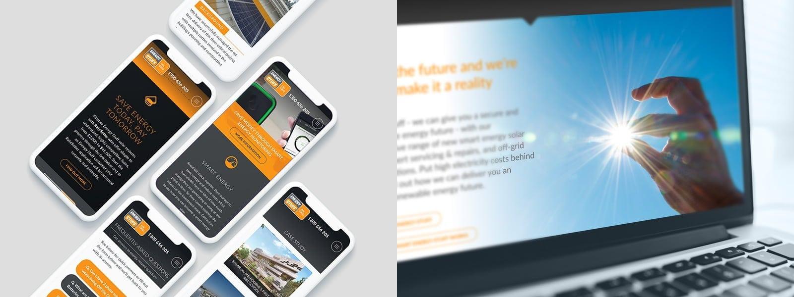 Energy Website by Zephyrmedia