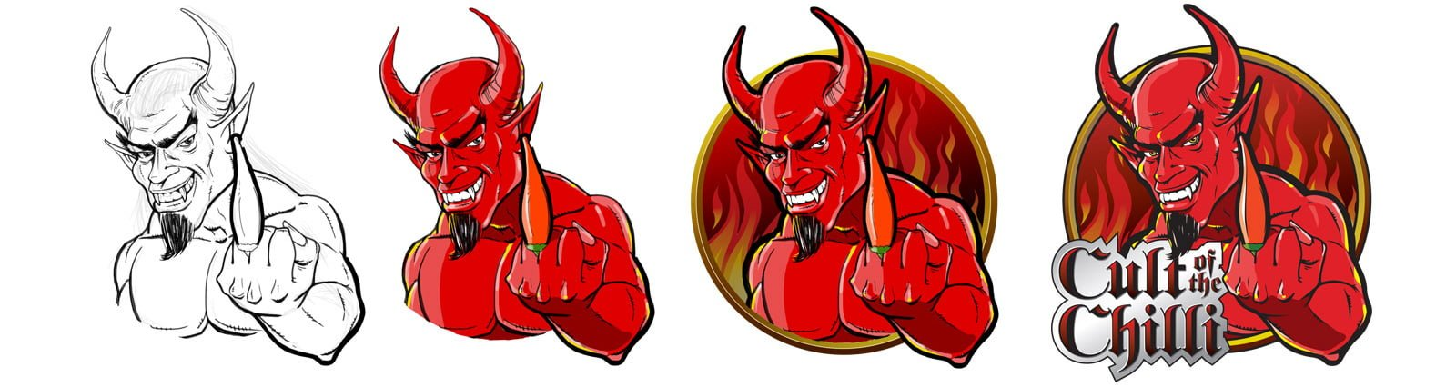 Cult of Chilli Logos by Zephyrmedia